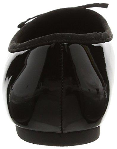 Desconocido Ballet Mujer de Zapatillas Black Almond Ballet Toe Black xwqUpxS