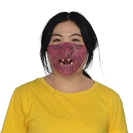 WSJDE 2019 Máscara de Halloween Máscara de Fiesta para Adultos ...