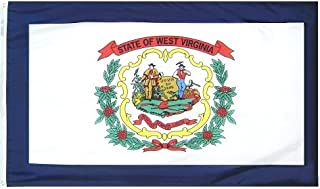 product image for All Star Flags 3x5' West Virginia Heavy Weight Nylon Flag from