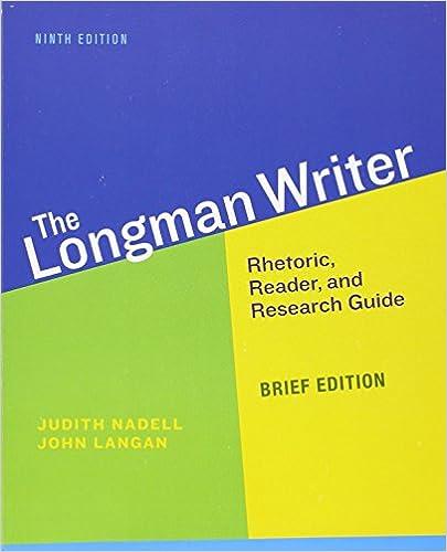 Amazon Com Longman Writer The Brief Edition 9th Edition