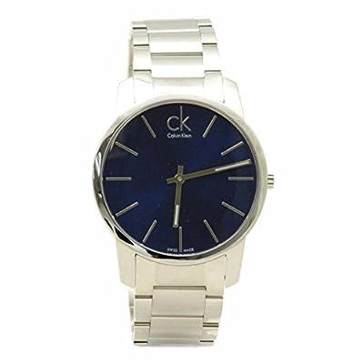 Calvin Klein Men's K2G2114N Silver Stainless Steel Analog Watch