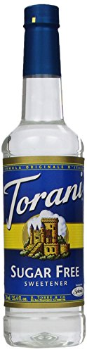 (Torani Sugar Free Syrup, Sweetener, 25.4 Ounce (Pack of 4))