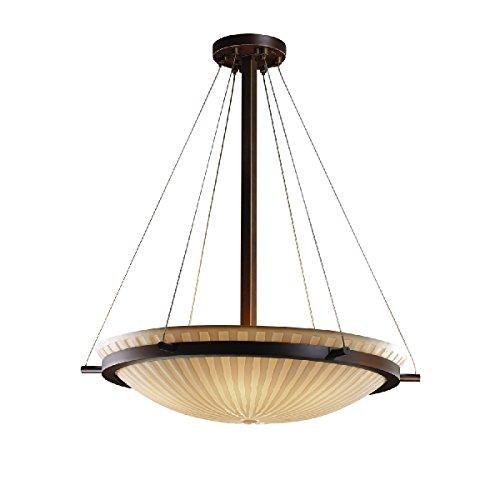 Justice Design Group Lighting PNA-9692-35-WFAL-DBRZ-LED5-5000 Porcelina-Ring 27