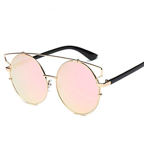 Frame Alloy Eyeglass (Suma-mama Men Women Clear Lens Glasses& Myopia Eyeglasses,Metal Spectacle Frame (E))