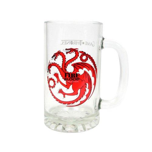 Game of Thrones - Targaryen glass tankard SD toys SDTSDT27344