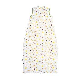 SlumberSafe Toddler Summer Sleeping Bag 0.5 Tog, Forest Friends 3-6 years, XLARGE