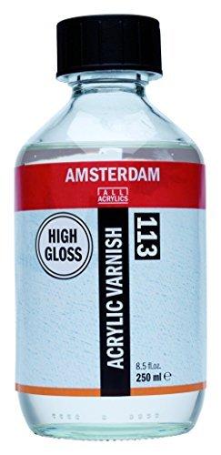 Amsterdam Protection - Acrylic Varnish - High Gloss - 250ml by Amsterdam