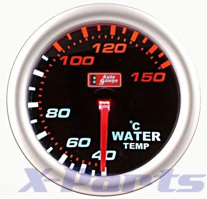 PLASMA Wassertemperatur-Anzeige AutoGauge Plasma - Design Auto Gauge