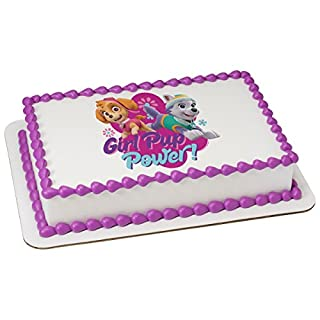 Paw Patrol Girl Pup Power Licensed Sheet Cake Topper # 20950