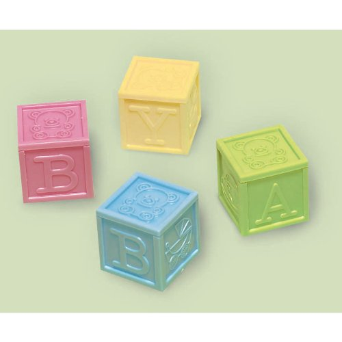 Amscan 382371 Baby Block Favors product image