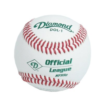 Diamond DOL-1 Official League NFHS Baseball (One Dozen)