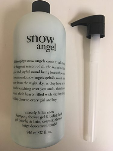 Philosophy Shampoo Shower Gel Bubble Bath 32 fl. oz. Snow Angel