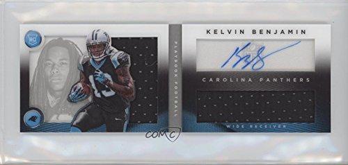 105 Rookie Football Card - Kelvin Benjamin #105/299 (Football Card) 2014 Panini Playbook - Booklets - Rookie Silver Signature [Autographed] #141