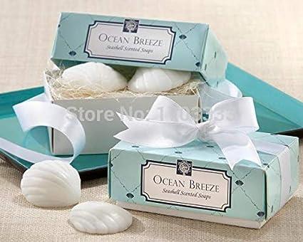 Amazon Com Soap Small 200pcs 100boxes Beach Themed Bridal