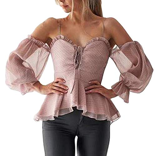 70s Clothes for Women Best Gifts for Women Oversized Shirt for Women Vests for Women Sexy Top for Women Pink ()