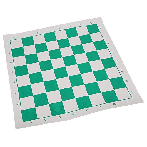Nannday Tablero de ajedrez, PU Cuadrado de Cuero Tablero Internacional de ajedrez Juego Intelectual Apto para niños…