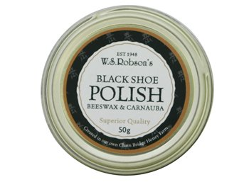 Robson's Beeswax Shoe Polish (Small) black