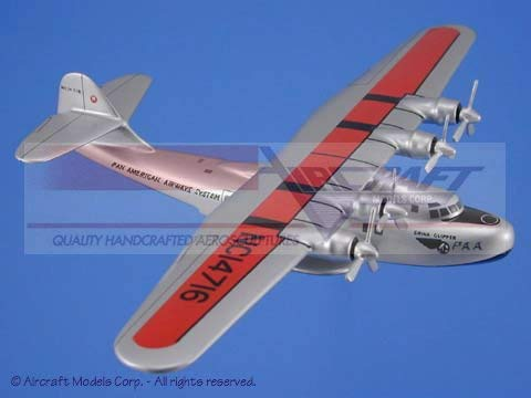 (Martin M-130 China Clipper Wood Airplane)