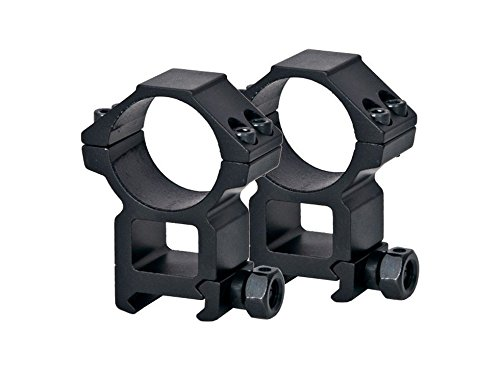 (CenterPoint 30mm Rings, High, Weaver Mount, See-Thru)