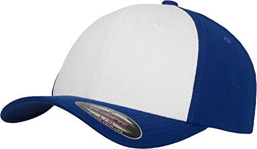 Flexfit Performance - Gorra para adulto multicolor - azul, blanco