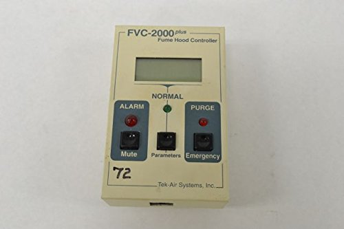 TEK-AIR FVC-2000 PLUS FUME HOOD FACE VELOCITY CONTROLLER B223907 (Hood Face Velocity)