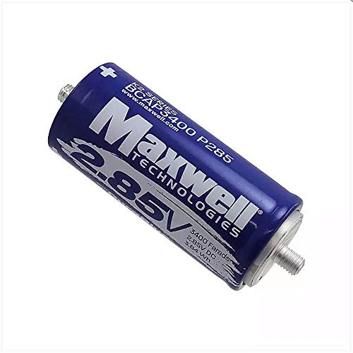 Maxwell DuraBlue car Audio Super Capacitor 2.85V 3400F Graphene Battery Hybrid car Battery Solar Power System (2.85V 3400F×6pcs)