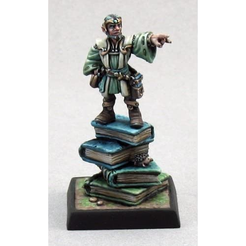Balto Burrowell, Gnome Wizard (1) Miniature by Reaper free