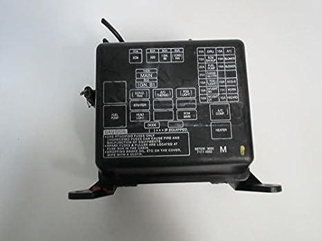 Caja de fusibles 00 Isuzu Rodeo 897239 3680 7154 – 4850 M: Amazon.es: Coche y moto