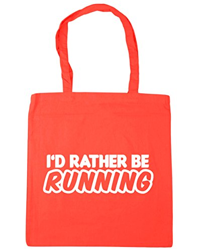 42cm Tote Bag x38cm Rather Be Running Coral HippoWarehouse 10 Gym Beach I'd Shopping litres vIRq8nzH