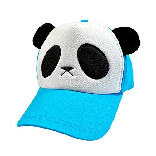 Acvip Shaped blu blu Cap baseball Panda bambini da per Berretto 6wnqIEvxPW