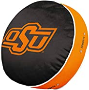 Team Logo 15 Inch Ultra Soft Stretch Plush Pillow (Oklahoma State Cowboys - Team Color,)