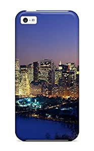 Iphone 5c Case Cover New York Christmas Case - Eco-friendly Packaging