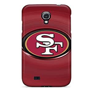 JohnPrimeauMaurice Samsung Galaxy S4 Shock-Absorbing Hard Cell-phone Cases Allow Personal Design HD San Francisco 49ers Skin [CPf2253TCso]