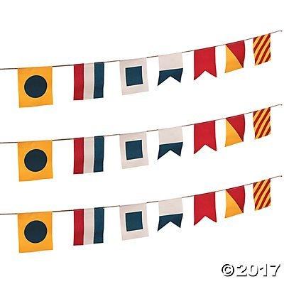 Nautical Flags Canvas Pennant