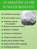 MB Herbals Alum Powder 250 Gram | Potassium Alum
