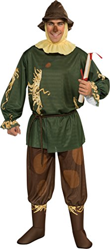Rubie's Wizard Of Oz 75th Anniversary Edition Adult Scarecrow, Multicolor, One Size Costume -