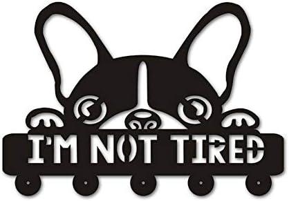 コートフック 30CM:クリエイティブ犬Silihouette木製ハンガーユニークなギフトのために恋人の服ハットキーフック/コートラック/ウォール現代のホームデコレーションウォールステッカー台所浴室のタオルフック、ブラック(ロングフック