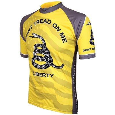 Don't Tread on Me Mens Cycling Jersey bike bicycle Medium - Original Cycling Jersey
