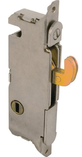 Mortise Latch (Prime-Line E 2013 Mortise Lock, 3-11/16 in. Hole Centers, Vertical Keyway Position, Steel Construction)