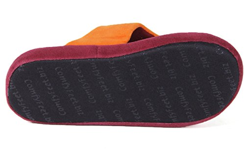 Ncaa College Comfy Flop - Officieel Gelicenseerd - Happy Feet Heren En Dames Virginia Tech Hokies