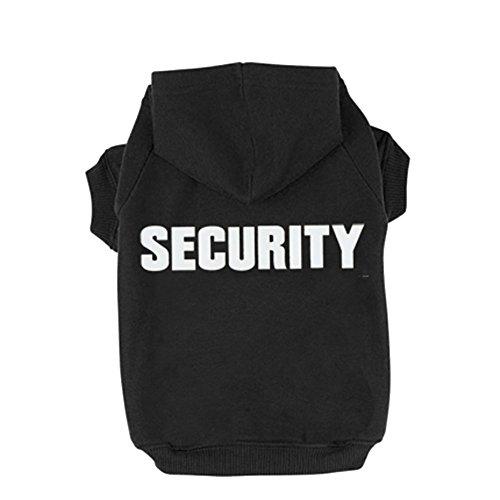 BINGPET Security Patterns Printed Hoodie