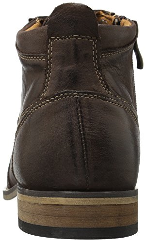 Steve Madden Mens Jabber Boot Marrone Scuro