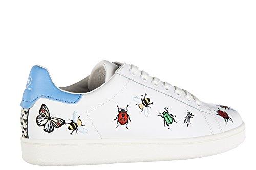 Moa Zapatillas De Arts Mujer Deporte En Insect Of Blan Master Zapatos Piel Nuevo UxIrUX