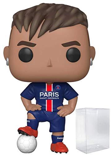 - Funko Pop! Soccer: Paris Saint-Germain - Neymar Jr. #20 Vinyl Figure (Includes Compatible Pop Box Protector Case)