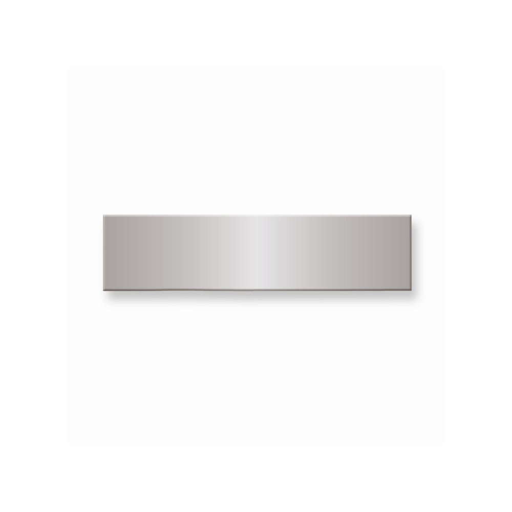 1/2 x 2 Polished Alum Plates-Sets of 6