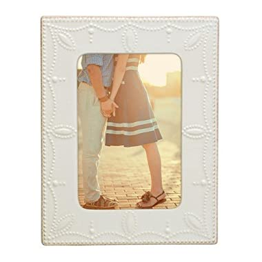 Lenox French Perle White 4x6 Frame