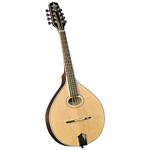 Trinity College TM-275 Standard Celtic Mandola with Hardshell Case - Natural Top by Trinity College