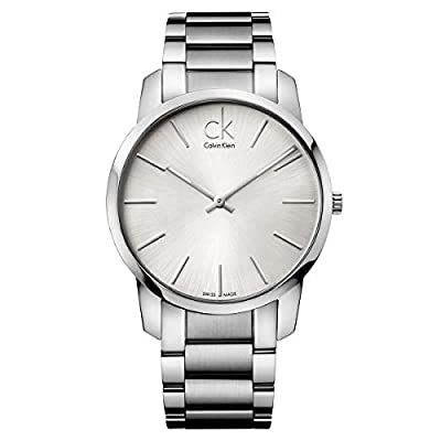 Calvin Klein Men's City Watch - K2G21126 Silver One Size