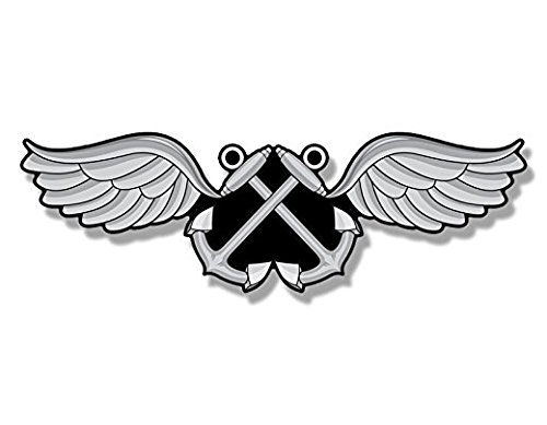 Aviation Boatswains Mate (Navy Aviation Rating AB Boatswains Mate Shaped Sticker (naval)- Sticker Graphic Decal)