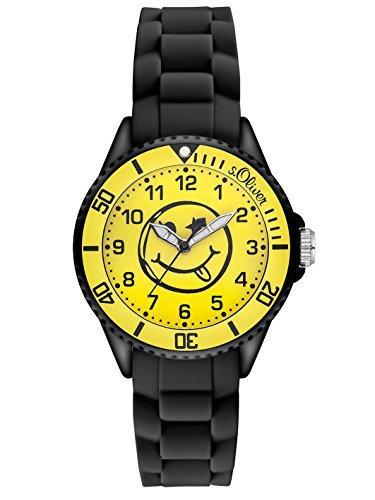 s.Oliver Unisex-Armbanduhr Analog Quarz Silikon SO-2997-PQ